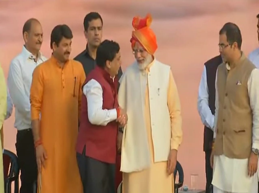 Dussehra evening... Meeting with PM