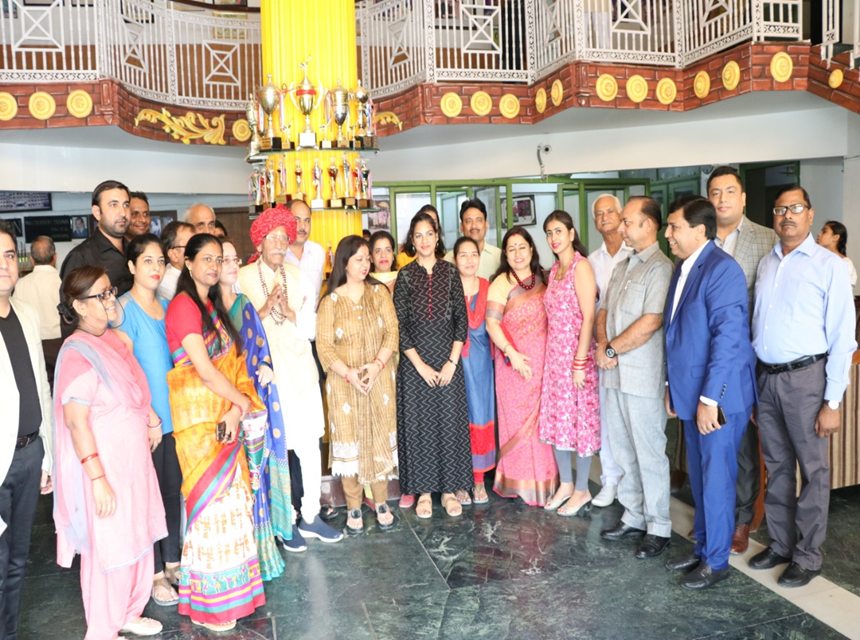 150th Birthday day celebration of Mahatma Gandhi along with MDH owner