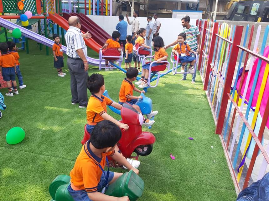 Play Area In School