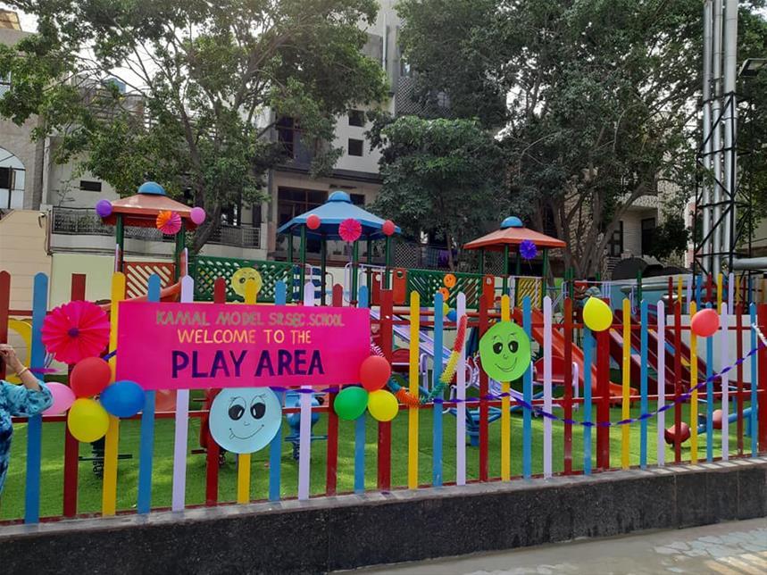 Play Area In School