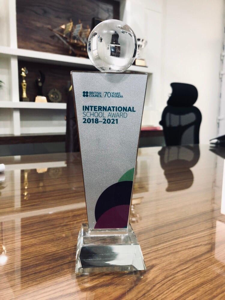 kms awarded by British council